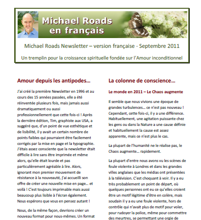Newsletter Mars 2013